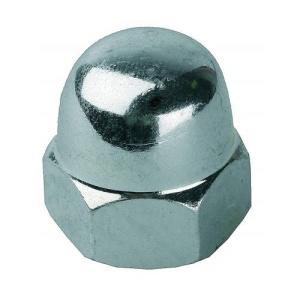 Гайка колпачковая М12 (оцинкованная) DIN 1587 (1шт)