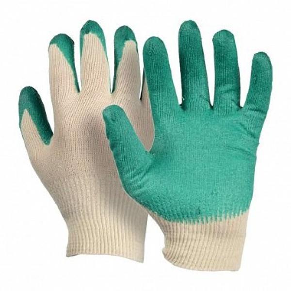 Перчатки х/б 1-й облив