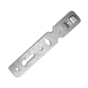 Анкерная пластина 165х1,2 мм, для пластиковых окон КВЕ (70 профиль) (1шт)