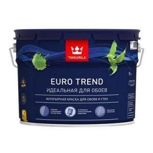 Краска интерьерная для обоев и стен Тиккурила ЕВРО ТРЕНД 9л (1)
