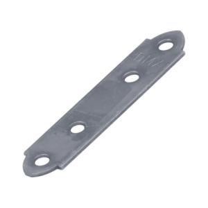 Пластина узкая крепежная 50х17х1,5 мм (оцинкованная) (1шт)