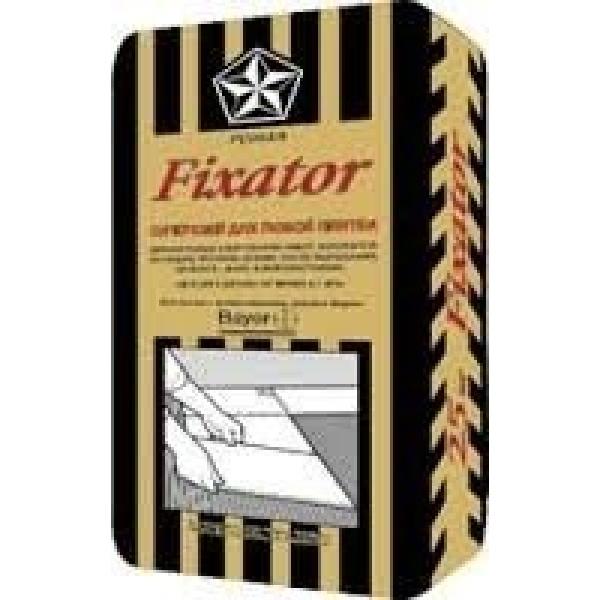 Плиточный клей Fixator Фиксатор Русеан 25 кг