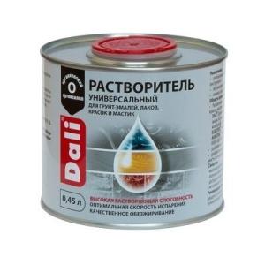 Универсальный растворитель DALI 0,45л бесцветный (6)