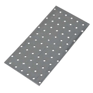 Пластина соединительная (оцинкованная) 160х400х2 мм (1шт)