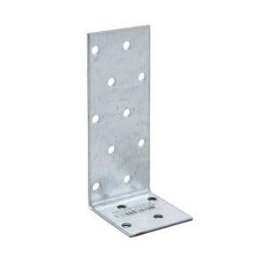 Уголок асимметричный 40х100х40х2 мм, оцинкованный (1шт)