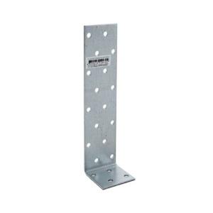 Уголок асимметричный 40х160х40х2 мм, оцинкованный (1шт)