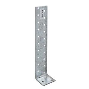 Уголок асимметричный 40х200х40х2 мм, оцинкованный (1шт)