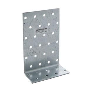 Уголок асимметричный 40х200х80х2 мм, оцинкованный (1шт)