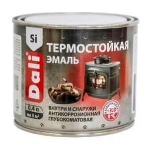 Эмаль термостойкая DALI 0,4кг серебро (6)