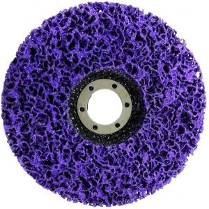 Круг нейлоновый для удаления краски и ржавчины PURPLE