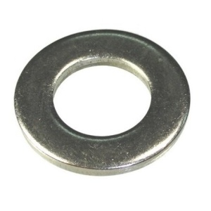 Шайба плоская М3 (оцинкованная) DIN 125 (1кг/8332шт)