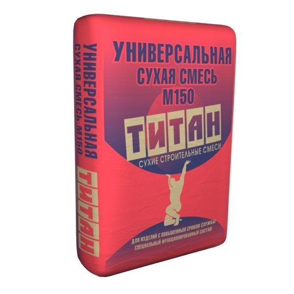 Смесь сухая М-150 Титан (Titan) 40кг