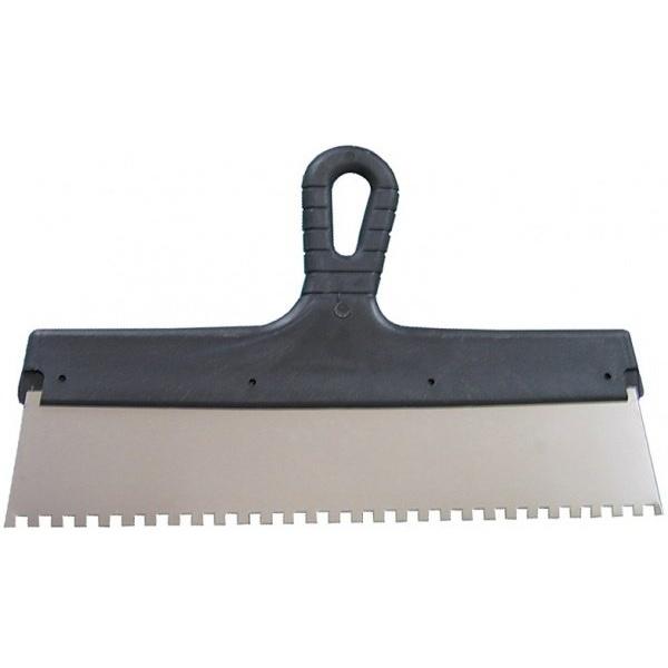 Шпатель зубчатый 200 мм, шагом зуба 6х6