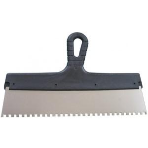 Шпатель зубчатый 200 мм, шагом зуба 4х4