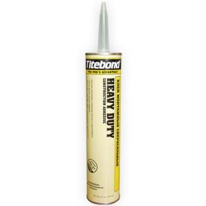 Cверхсильный клей (желтая туба) Titebond heavy duty 296 мл