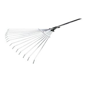Грабли веерные регулируемые,телескопическая ручка