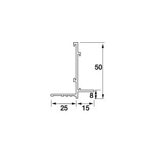 Переходной Элемент AXIOM BPT 3208 G для плит с кромкой Tegular/Microlook