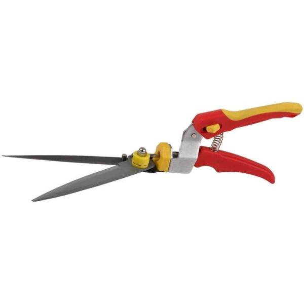 Ножницы для стрижки травы GRINDA, поворотный механизм 180 гр