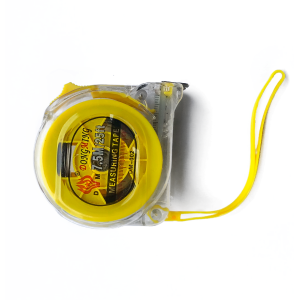 Рулетка DONGMING прозрачный корпус амортизатор 7.5м*25мм