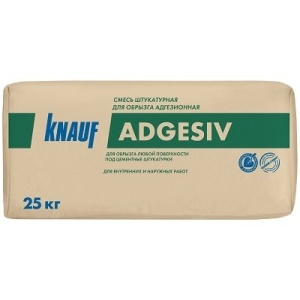 Штукатурка цементная для обрызга адгезионная PrevNext  КНАУФ-Адгезив  25кг