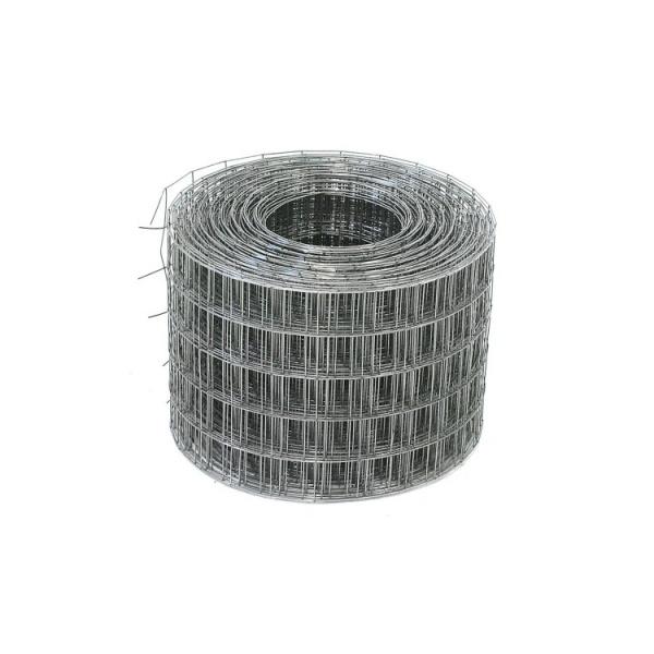 Сетка сварная 50х50х1,6 мм, рулон (1,5х20) метра, чёрная