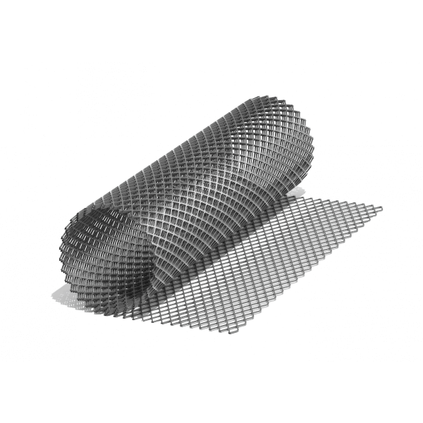 Сетка ЦПВС O 0,8., ромбовидная-120 (1х7) м., просечка