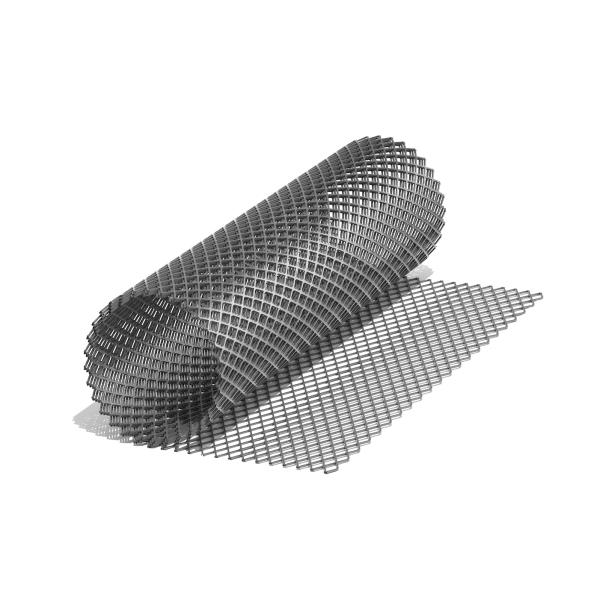 Сетка ЦПВС O 0,9., ромбовидная-155 (1х7) м., просечка