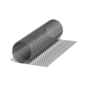 Сетка ЦПВС O 0,6., ромбовидная-95 (1х7) м., просечка