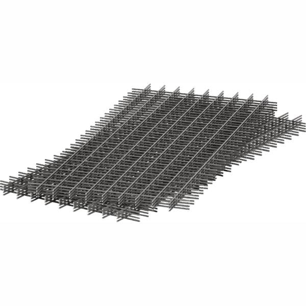 Сетка дорожная сварная 100х100х4 мм, карты 1,5х2 метра