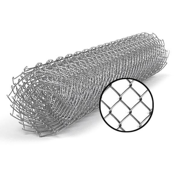 Сетка рабица 1,8х10 м, ячейка 50х50 мм, 1.5 оцинкованная