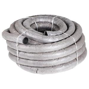 Дренажная гофрированная труба диаметр 110 с фильтром из геоткани