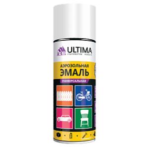 Краска аэрозольная универсальная Ultima, 520 мл, бел. мат. Ral 9003