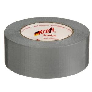 Скотч армированный Kraft 50мм х 25м, серый