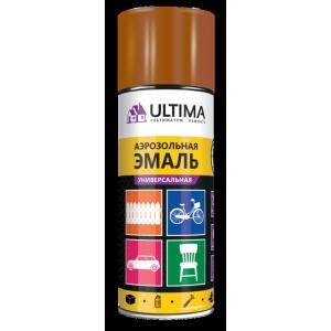 Краска аэрозольная универсальная Ultima, 520 мл, коричневый RAL 8028