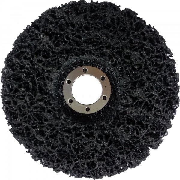 Круг нейлоновый для удаления краски и ржавчины black 125x22.5 мм