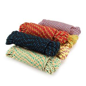 Веревка плетеная п/п 6 мм (250 м) цветная