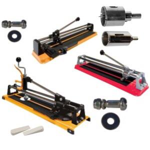 Инструменты для работы с кафелем и стеклом